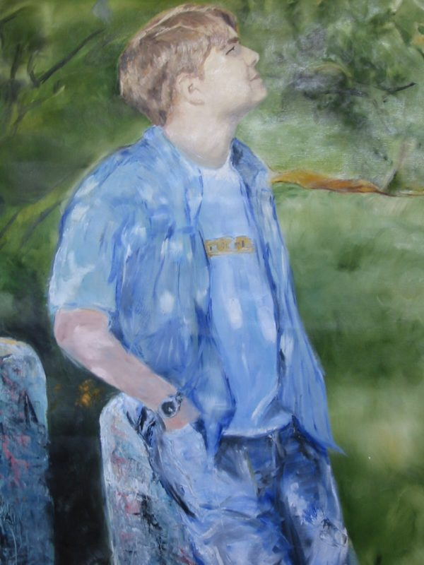 Jon at UMass, oils