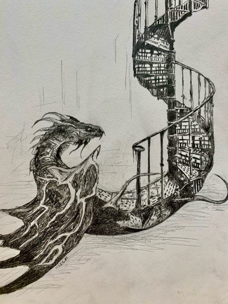 A Staircase Dragon